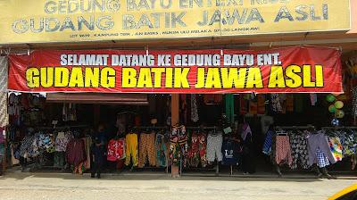 Batik Murah di Langkawi