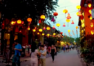 Lanterns decoration in Hoi An city