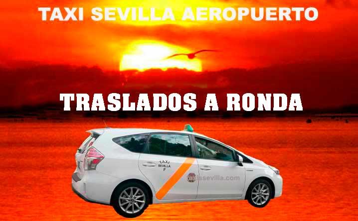 ¿Cuánto cuesta un taxi de Sevilla a Ronda?