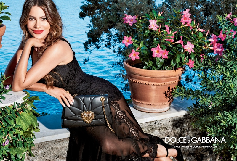 Sofia Vergara Lights Up Dolce & Gabbana Handbag Campaign