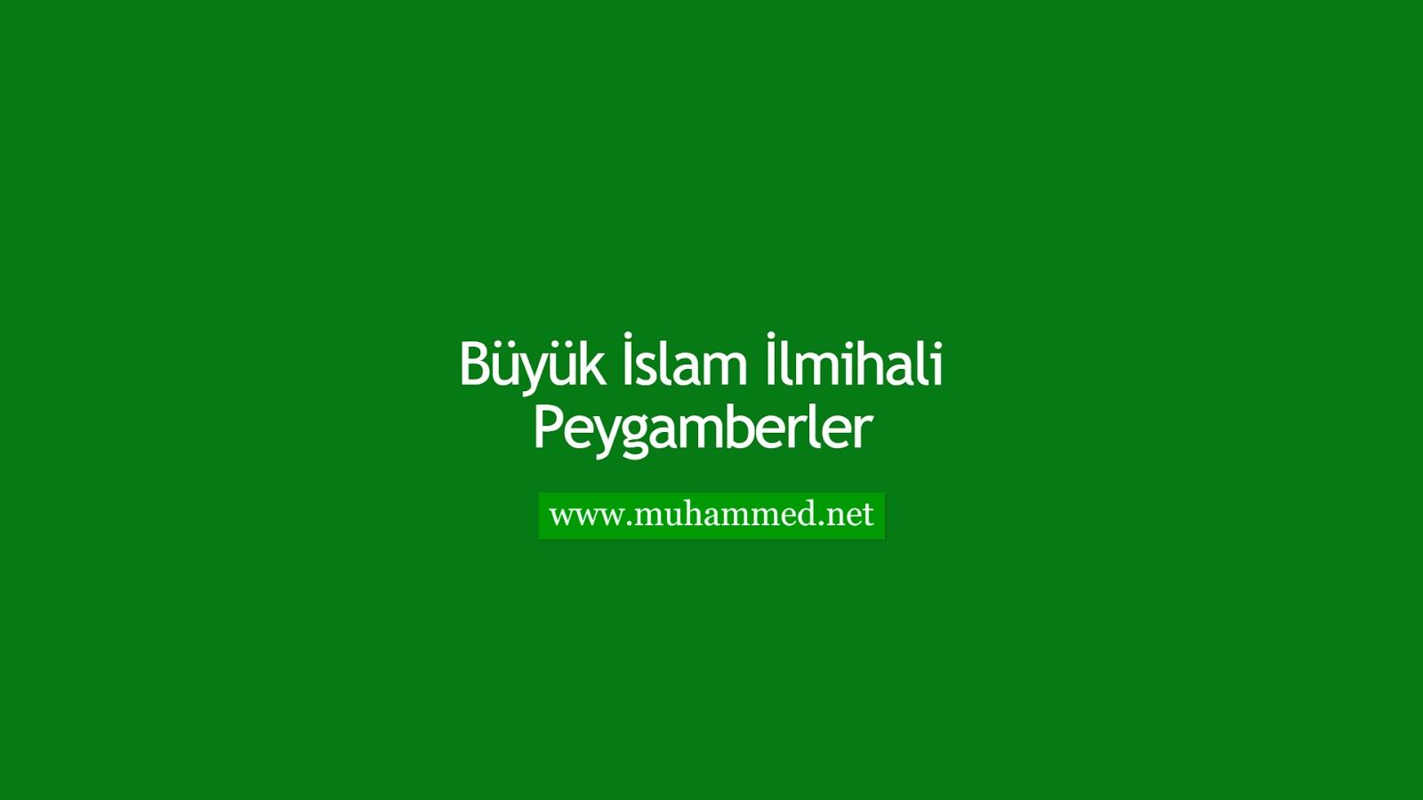 İlmihal - Peygamberler