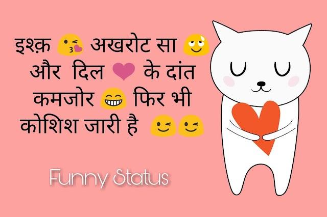 300 + Funny Status For WhatsApp in Hindi