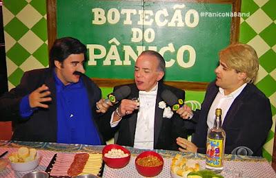 Chiquinho Scarpa no Botecão do Pânico - Divulgação/Band