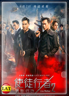 Line Walker 2 Invisible Spy (2019) DVDRIP LATINO