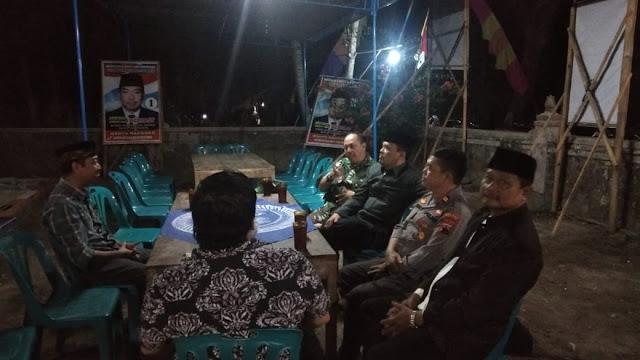 Muspika Kecamtan Manisrenggo Sambangi Calon Kepala Desa