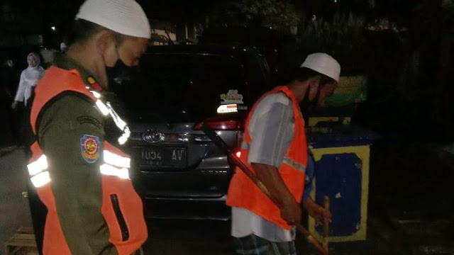 Satpol PP Hukum 36 Pelanggar Masker di KS Tubun-Petamburan Semalam