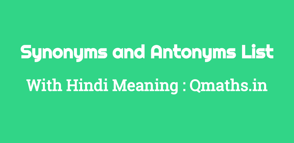 Crafted Meaning Synonym