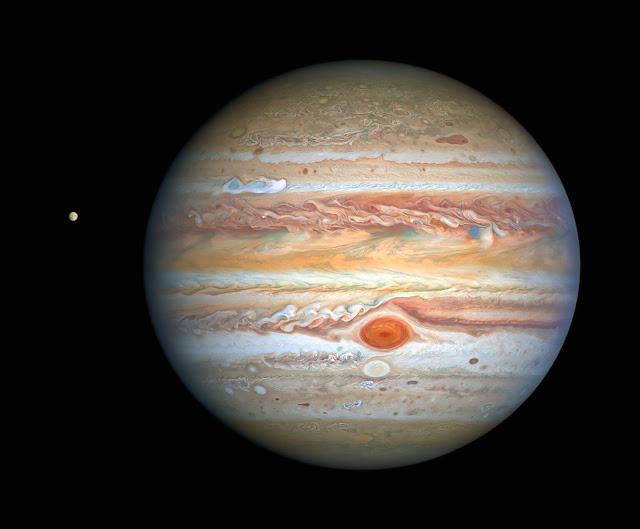 tempestade de Júpiter