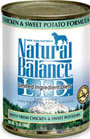 Picture of Natural Balance L.I.D. Limited Ingredient Diets Chicken and Sweet Potato Formula Canned Dog Food