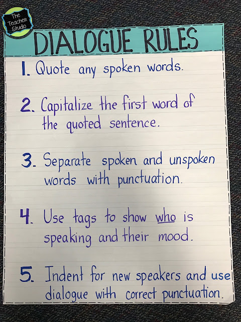 teaching dialogue