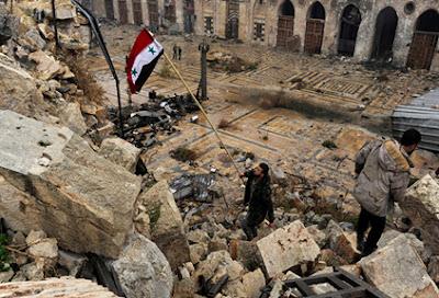 Ejército Árabe Sirio libera ciudad de Alepo