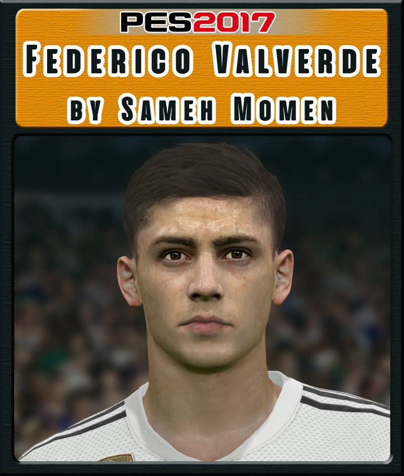 PES 2017 Federico Valverde Face by Sameh Momen