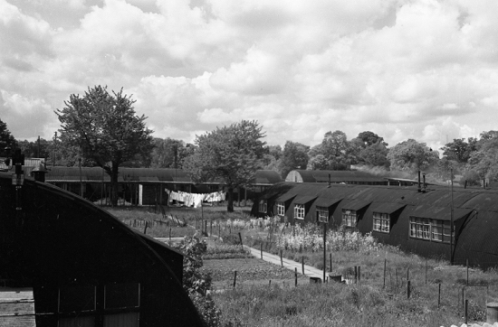 Photograph of Hockey Lane estate in the 1950s Image from K. King