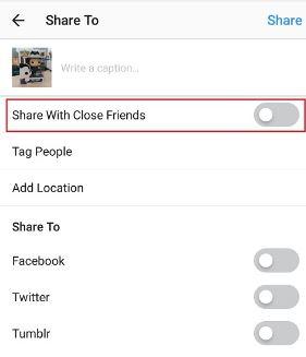close friends instagram tidak ada