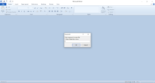 mengunci file office word