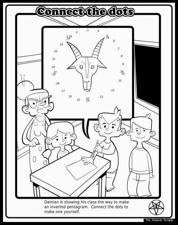 Satanic books handed to US kids after religious freedom