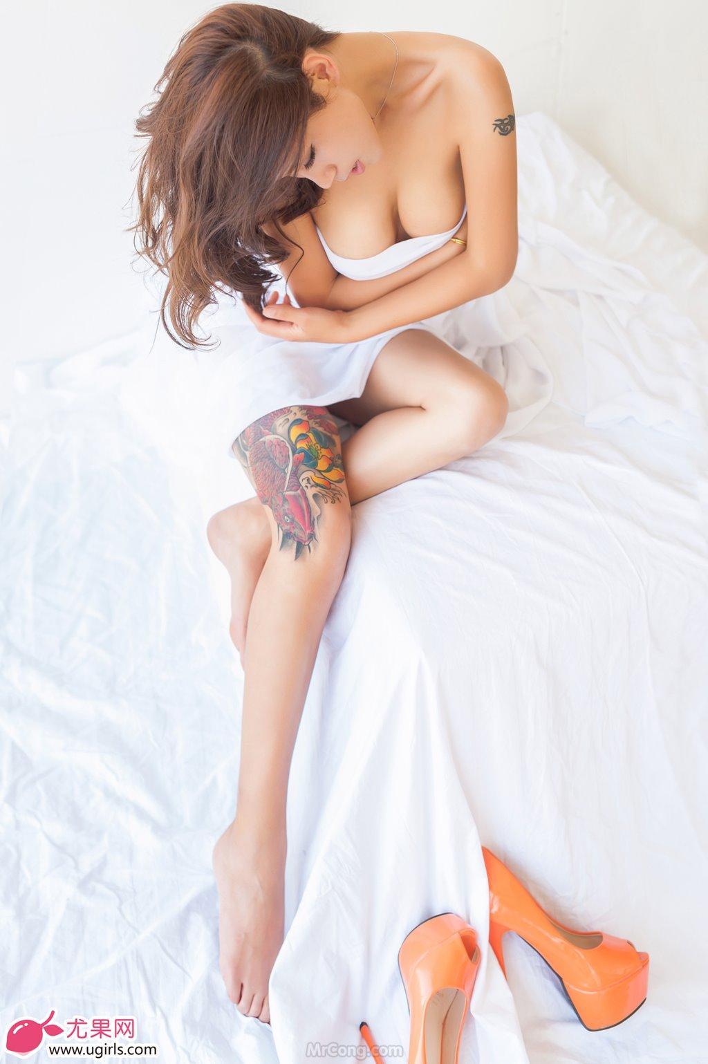 Image MrCong.com-UGIRLS-020-Tian-Yi-Yi-018 in post Người đẹp Tian Yi Yi (田依依) khoe ngực trần sexy trong bộ ảnh UGIRLS 020