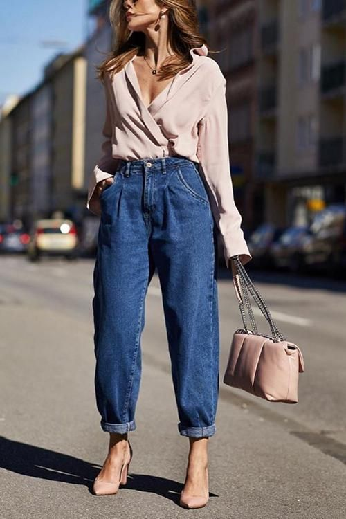 90s style jeans trend