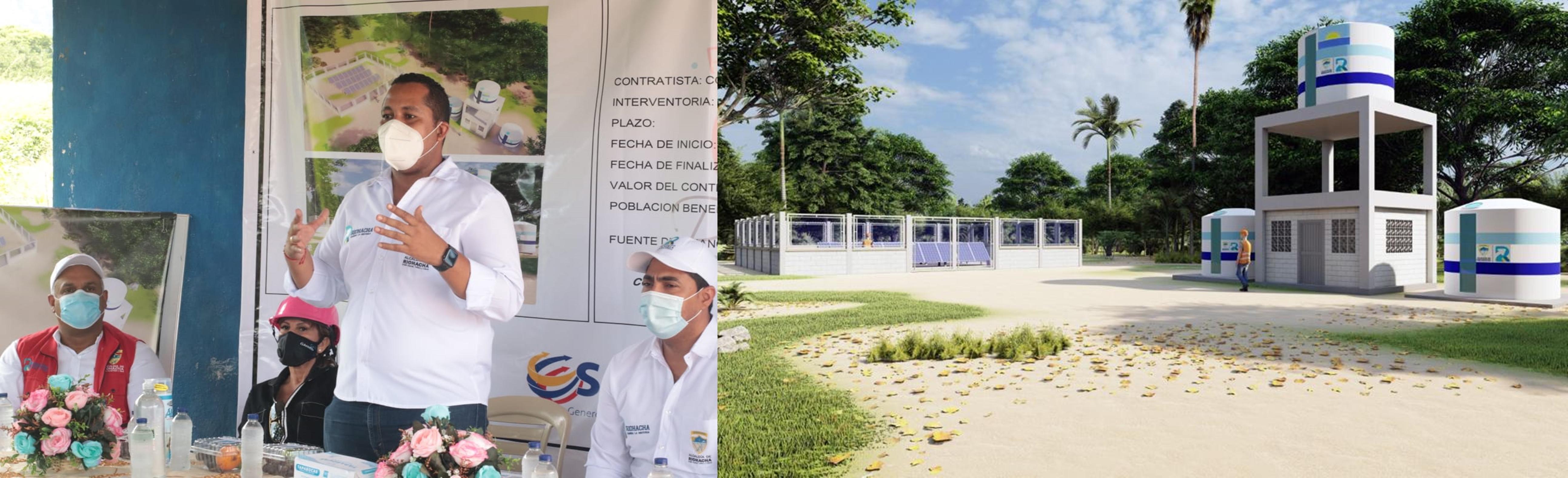 hoyennoticia.com, José Bermudez Cotes: ´La Arena' tendrá agua 24 horas al día