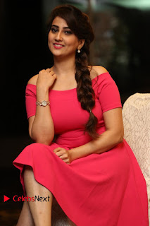 Actress Anchor Manjusha Latest Pictures in Pink Short Dress  0124.JPG