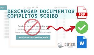 Descargar documentos de Scribd [Online y Gratis 2021]