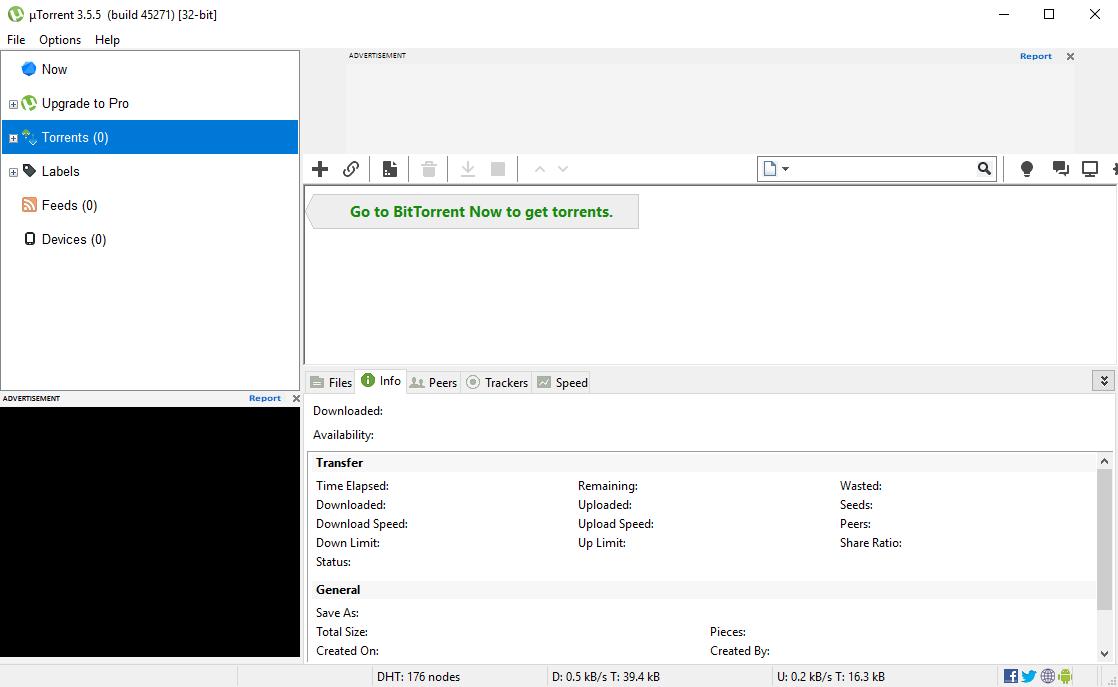 µTorrent 3.5.5 Build 45271