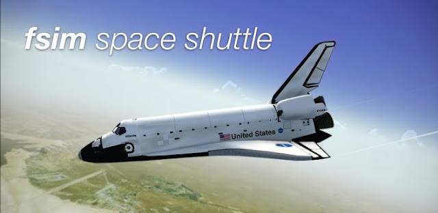 Com F-Sim Space Shuttle, um número um simulador de vôo para iOS