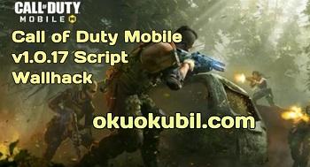 Call of Duty Mobile v1.0.17 Script Wallhack Hilesi İndir 2020
