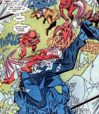 Flash #195, fight