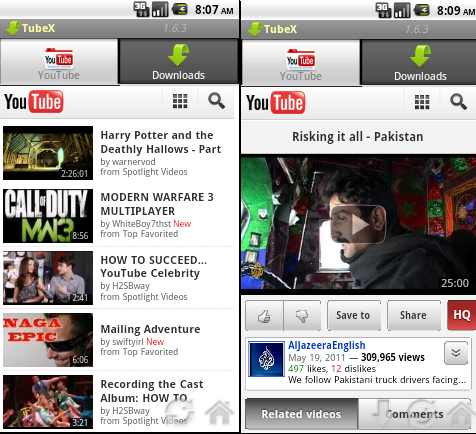 Tube X v1 6 3 {Ad-Free}{Fast YouTube Downloader + Player} Android