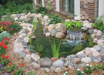 jasa pembuatan kolam ikan dari batu kali