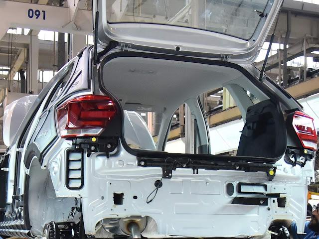 Novo VW Polo 2018 - fabricação no Brasil
