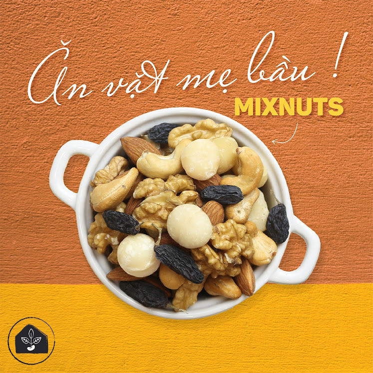 Vì sao nên bổ sung hạt dinh dưỡng vào bữa phụ cho Bà Bầu?