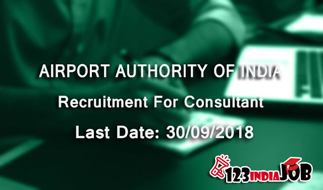 Airports Authority of India recruitment for 34 consultant posts