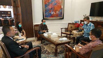Ombudsman Temui Wagub Sumut Bahas PPDB Online Bermasalah