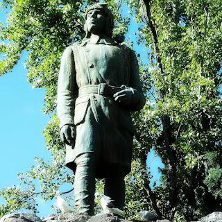 Monumento no Parque General San Martín, Mendoza
