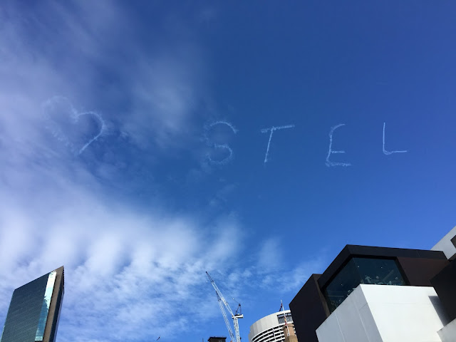 Sydney - The Rocks Aroma Festival Sky Writing
