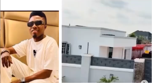 Comedian MC Edo Pikin  buys a new house and dedicates it to his son(Video)