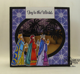Our Daily Bread Designs Stamp_Die Duos_ Great Joy_ Custom Dies_ Diorama with Layers_ Bethlehem_ Paper Collection_ Christmas Card 2016