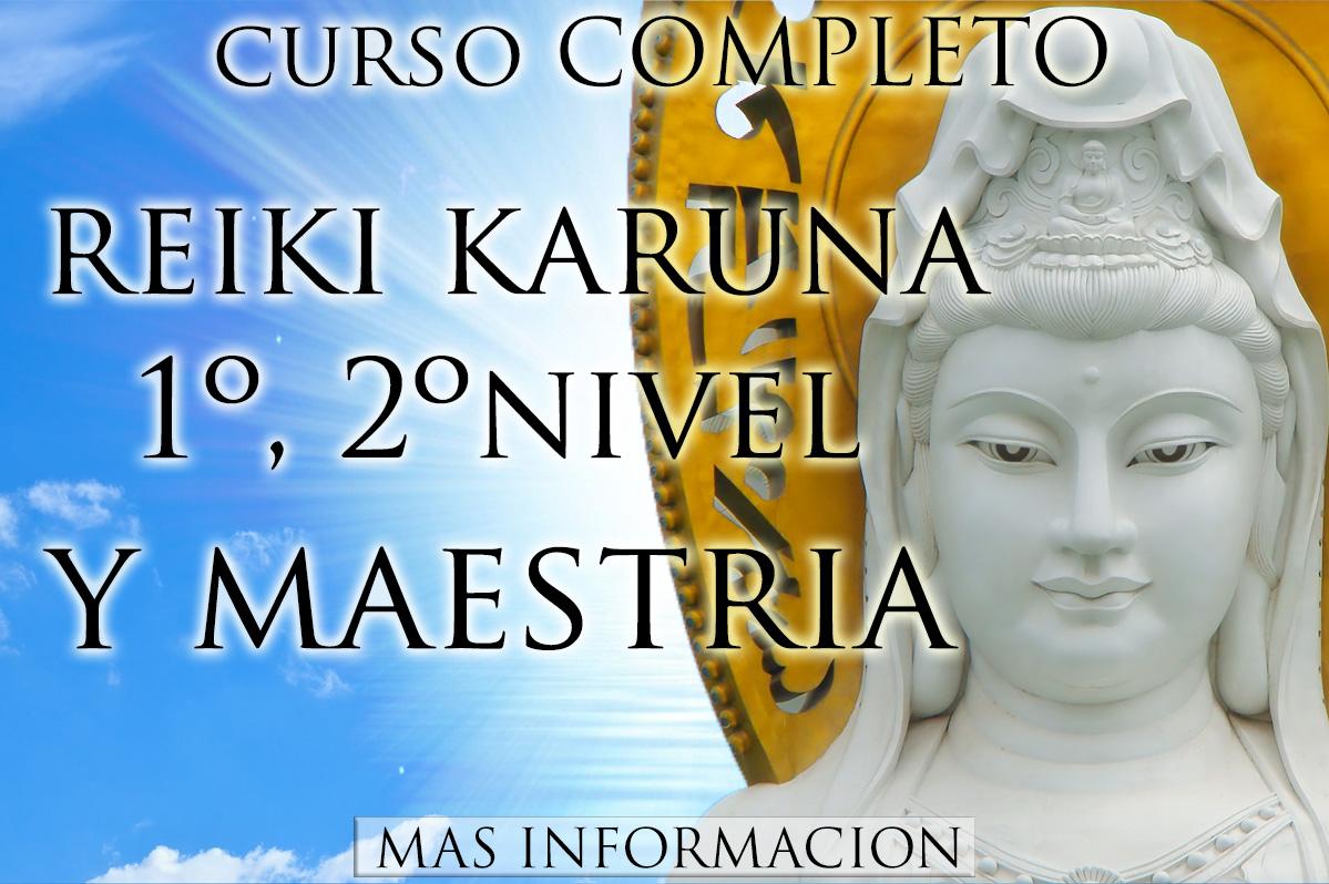 http://www.almasaranterapiasycursos.com/2018/03/CURSO-REIKI-KARUNA-1-2-Y-MAESTRIA.htm