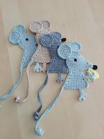 boeklegger muis gehaakt
