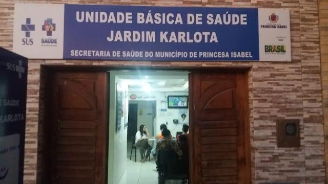UBS Do Jardim Karlota, em Princesa Isabel, realiza atendimento noturno