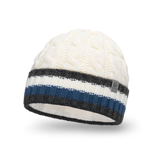 Ciepła czapka męska z wywinięciem