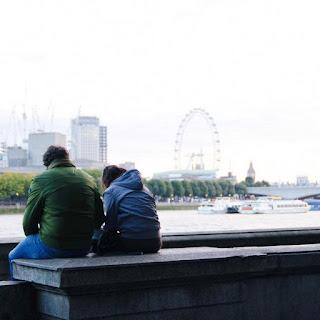 photo Londres Tamise London Eye