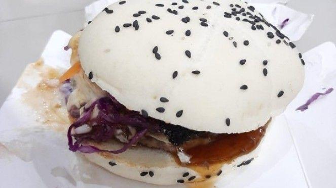 Resep Mudah Membuat Beef Yakiniku Burger Ala McD