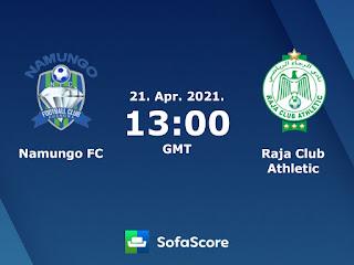 مشاهدة مباراة الرجاء ونامونجو بث مباشر اليوم الأربعاء 21/04/2021 دوري أبطال أفريقيا