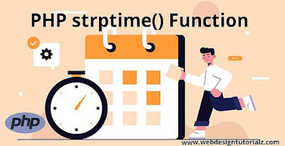 PHP strptime() Function