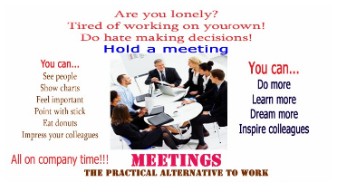 Image of conducting effective meetings | steps in planning a meeting|meeting best practices