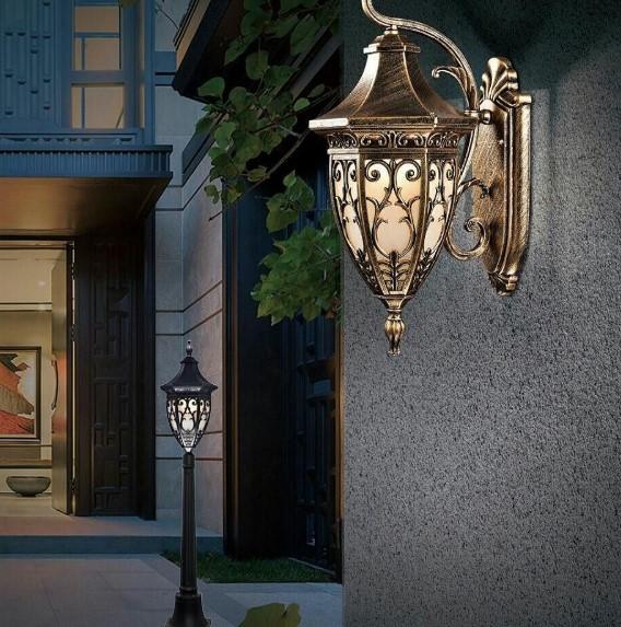 Desain Lampu Taman Yang Minimalis Konstruksi Sipil