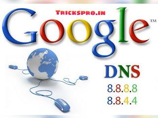 Google.com dns